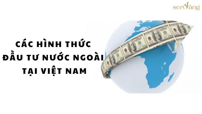 CÁC HÌNH THỨC ĐẦU TƯ NƯỚC NGOÀI TẠI VIỆT NAM