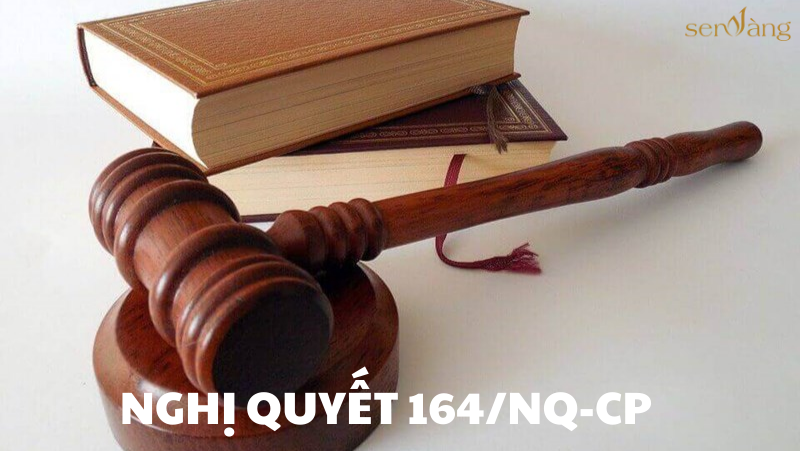 Ban hành Nghị quyết 164/NQ-CP – Văn bản pháp luật