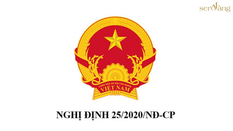 Nghị định số 25/2020/NĐ-CP của Chính phủ – Văn bản pháp luật