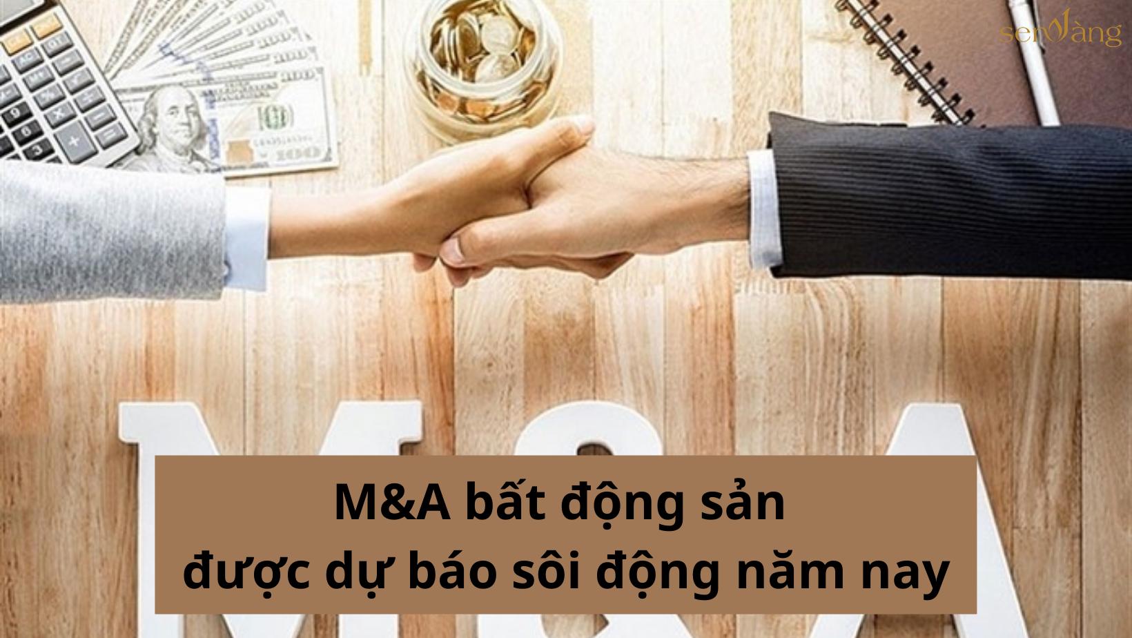 M&A bất động sản được dự báo sôi động trong năm 2021