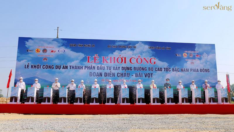 Commencement of Dien Chau - Bai Vot expressway